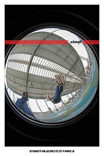 Opteka 6.5mm HD MC Manual Focus Lens for Fuji Mount