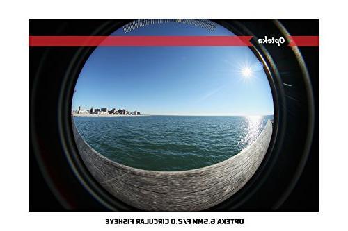 Opteka 6.5mm MC Manual Lens for Mount