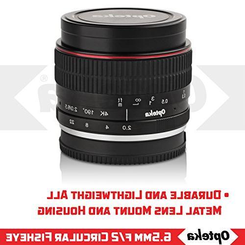Opteka MC Lens for Mount APS-C