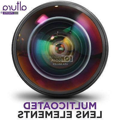 Altura Photo 8MM Fisheye Canon - Aspherical Lens