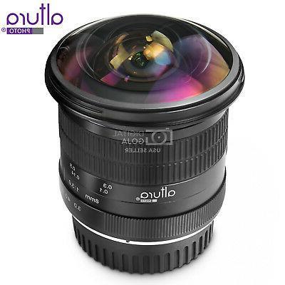 Altura 8MM Fisheye - Wide Angle Aspherical Lens
