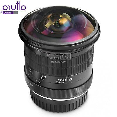 Altura 8MM Fisheye - Wide Angle Aspherical Lens