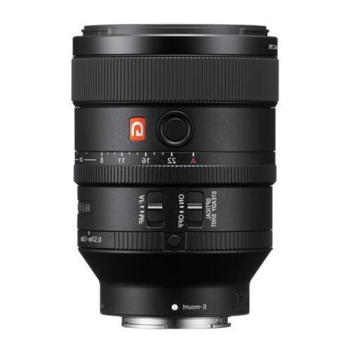 Sony FE 100mm F2.8 STF GM  OSS E-Mount NEX Camera Lens #SEL1