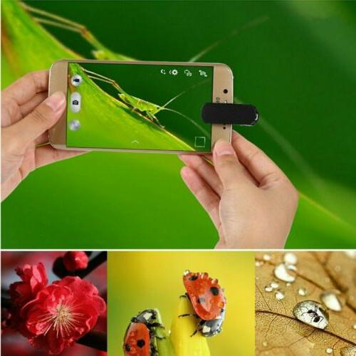 Fish Wide Angle Lens Clip on Cell Phone For iPhone