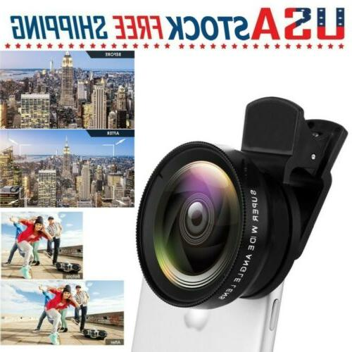 fish eye wide angle lens camera clip