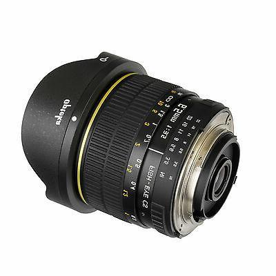 Opteka 6.5mm HD Fisheye Lens for Nikon DSLR D600 D610 D780 D