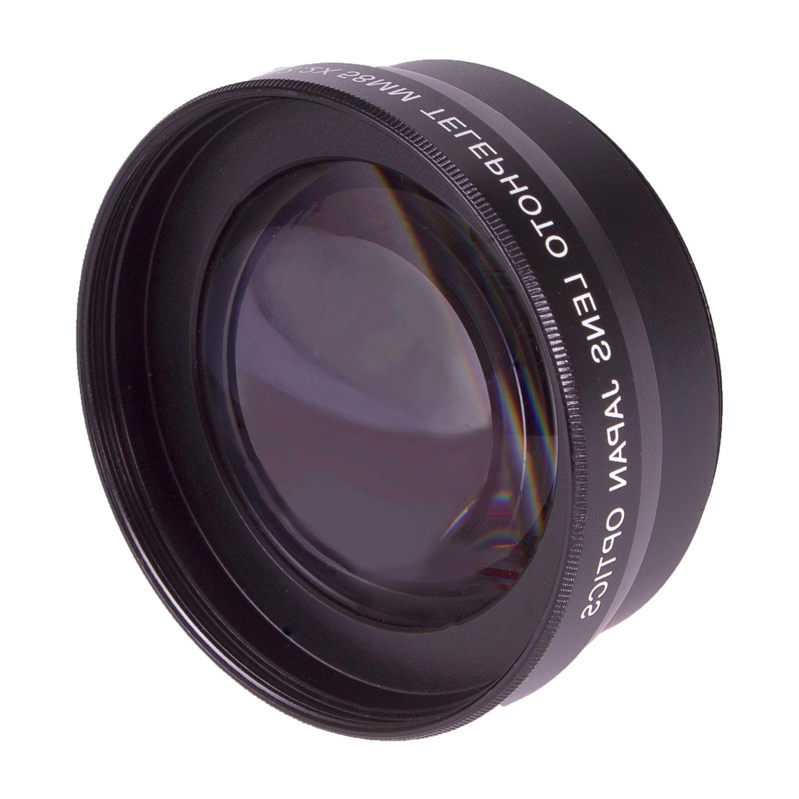 FISHEYE LENS + TELEPHOTO FILTER KIT FOR OLYMPUS TG5 TG6