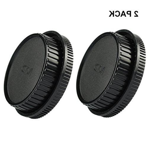front cap rear lens