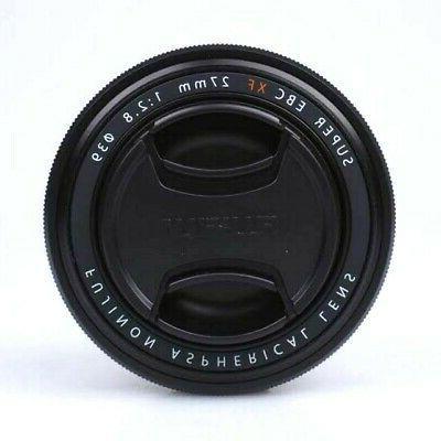 Fujifilm Fuji Fujinon XF 27mm F/2.8 lens X Series Black Came