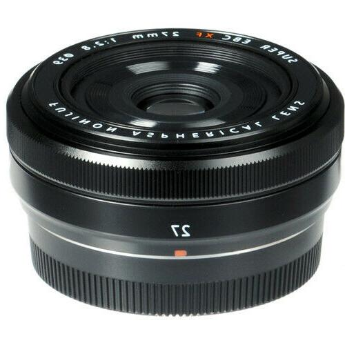 fujifilm xf27mm f 2 8 lens black