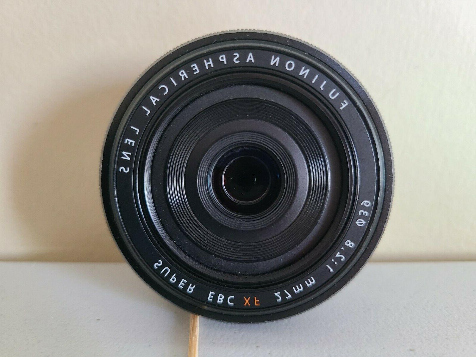 fujinon xf 27mm f 2 8 camera