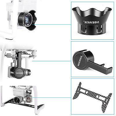 Neewer Gimbal Guard + Camera Lens Cap for DJI Phantom 3 Prof