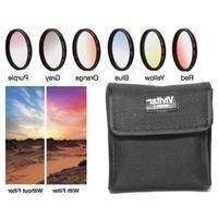 Vivitar 40.5mm Graduated Color Multicoated Filter Set #VIV-F