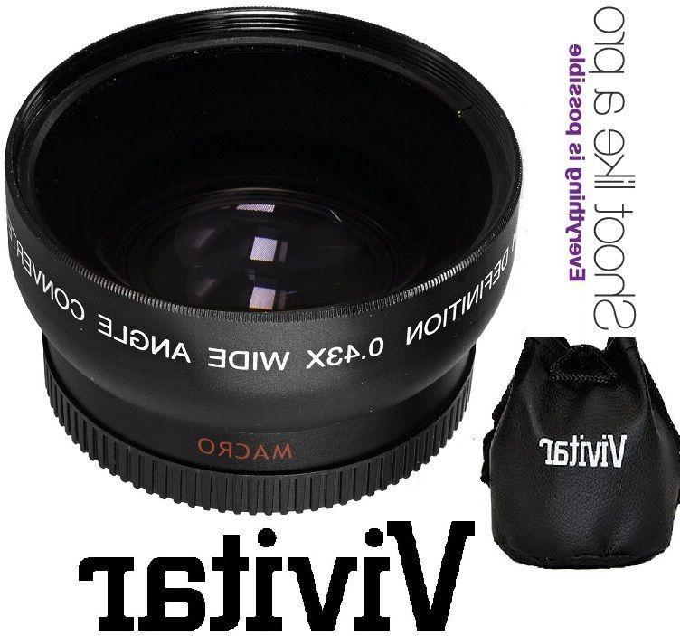 Hi-Def Wide Angle With Macro Lens For Panasonic Lumix DMC-G7