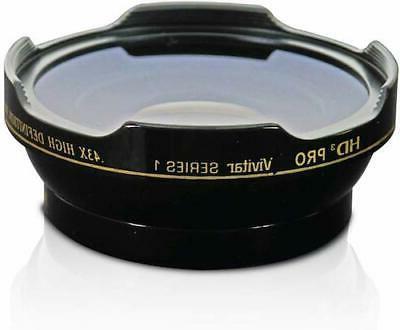 HD3 WIDE FISHEYE + Canon EF 100-400mm IS USM