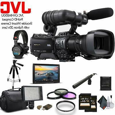 jvc gy hm850u prohd shoulder mount camera