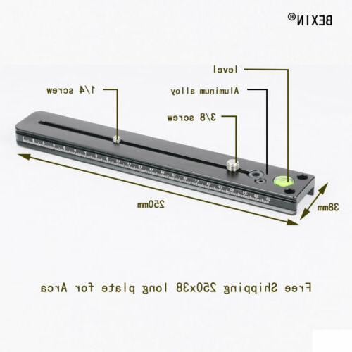 Long Focus Plate Rail Camera