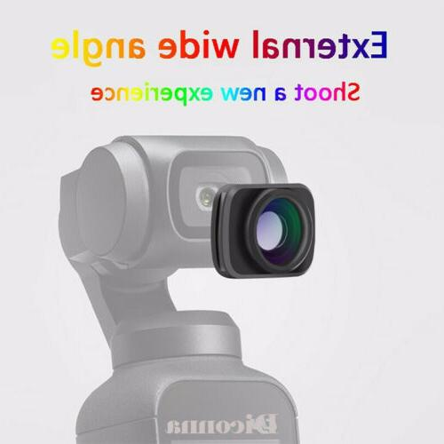 Magnetic Wide-Angle Camera Len For Pocket Handheld Accessory