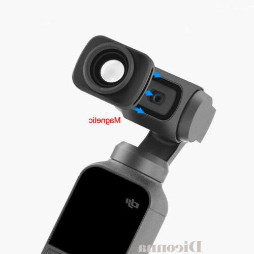 Magnetic Wide-Angle Camera For