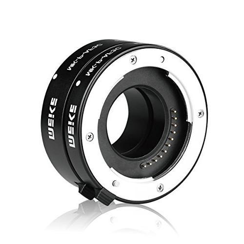 MEIKE MK-P-AF3C Metal Auto Focus Macro Extension Tube 16MM For Olympus Four Camera Lenses