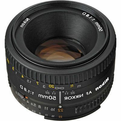 NEW Nikon 50mm 1.8 AF Lens