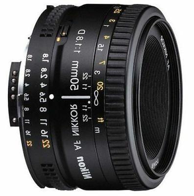 NEW f/1.8D 1.8 Lens 50 mm