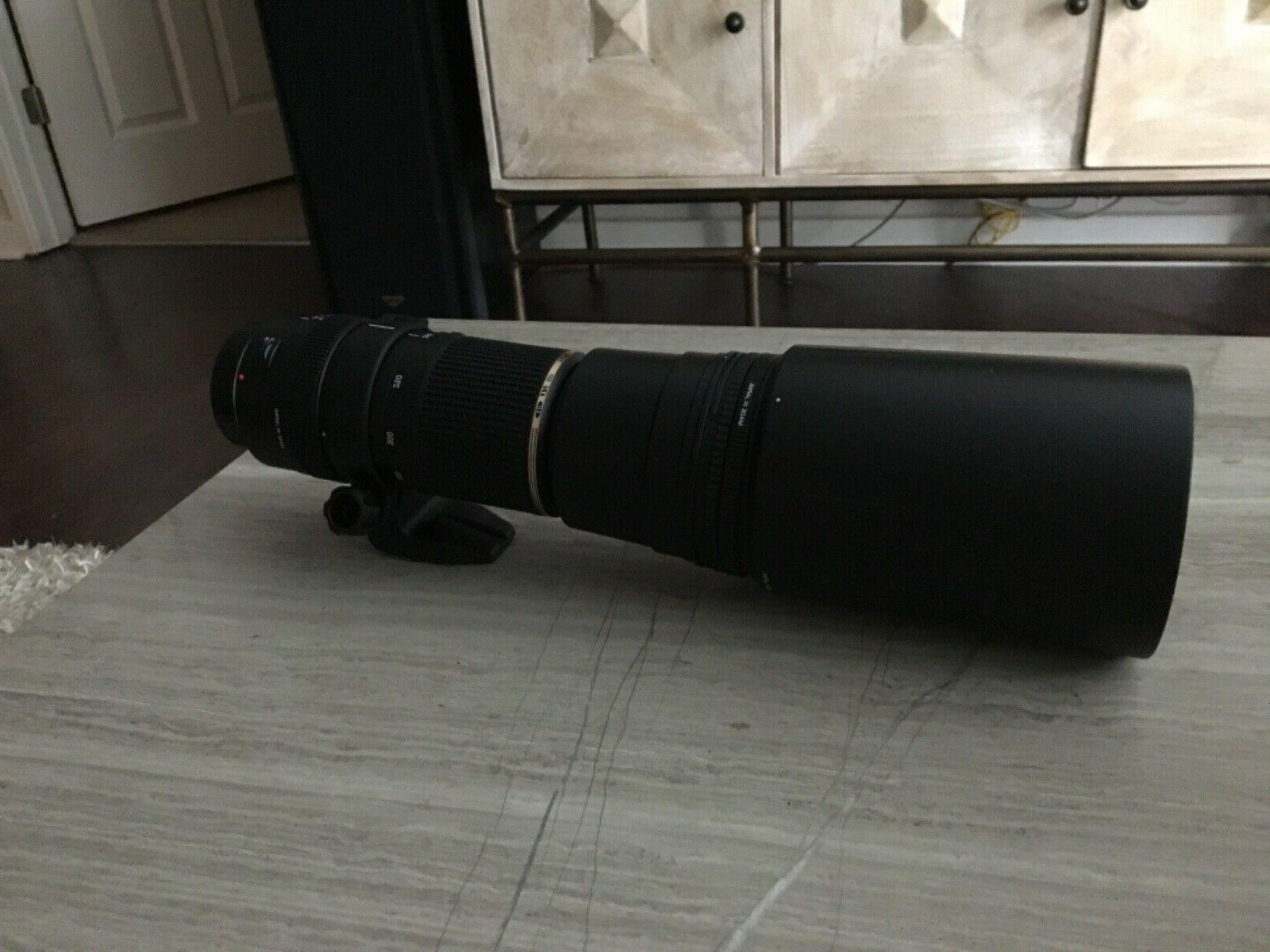 NEW Tamron camera SP AF-200-500mm LD for Canon