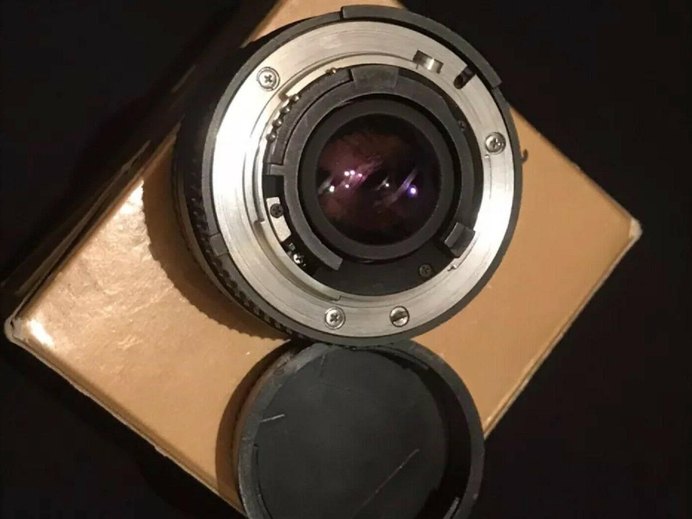 f/1.8D for Nikon DSLR Cameras