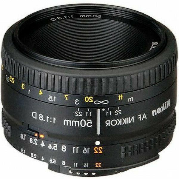 nikon af 50mm f 1 8d lens