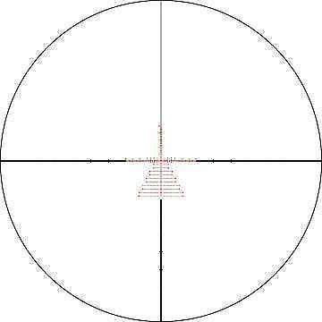 Vortex Gen II 5-25x50 Riflescope EBR-2C