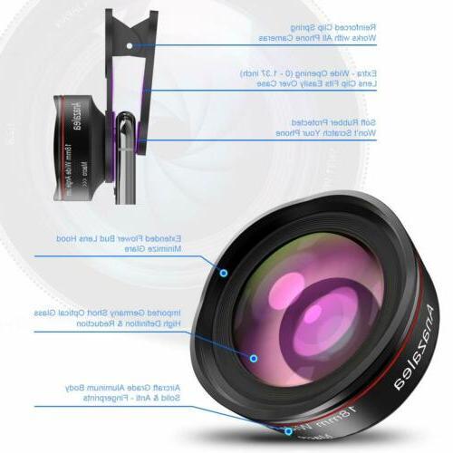 Phone Camera iPhone and Angle Macro Lens ....