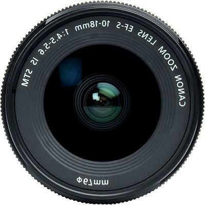 Canon Lens f/1.8 f/4.5-5.6
