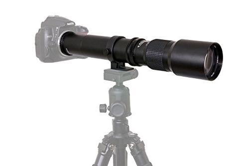 High-Power Telephoto a7r, a7s, a7, a6300, a6000, a5100, a3000, NEX-7, NEX-6, NEX-5N, NEX-5R, and Cameras