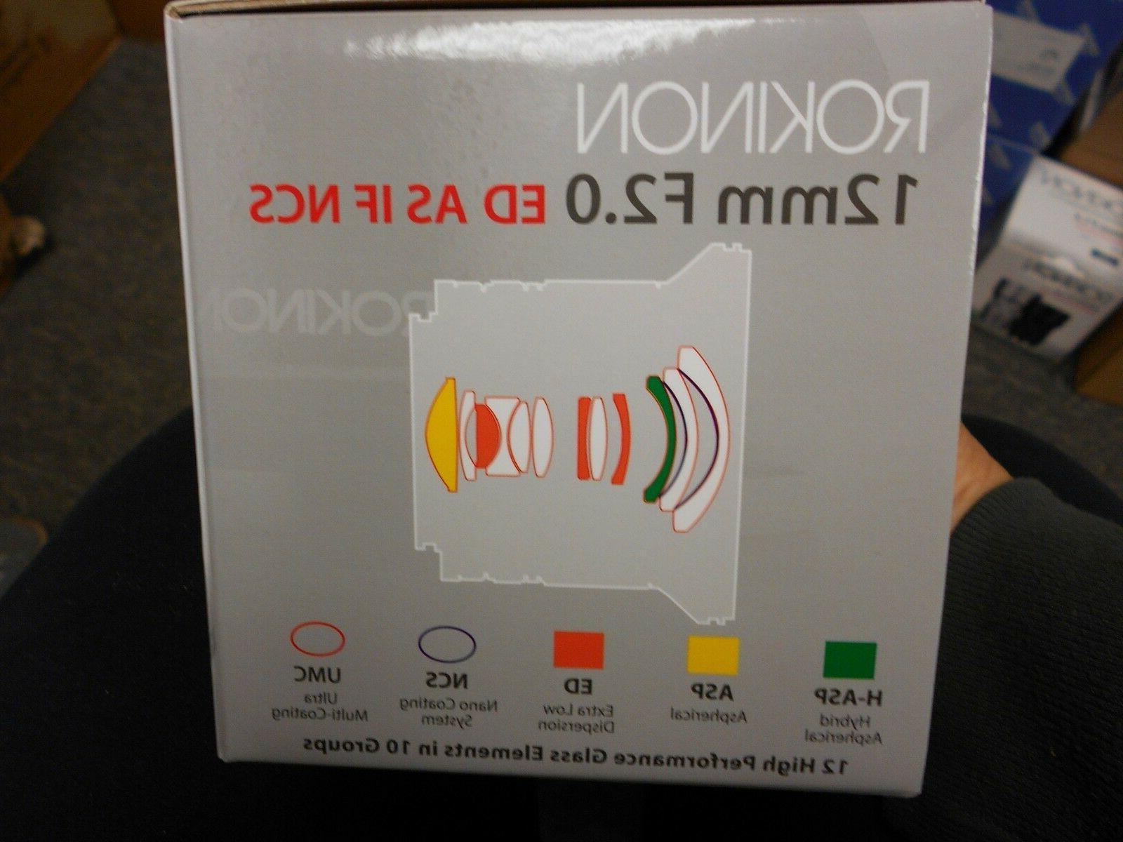 Rokinon 12mm Ultra Wide for Micro 4/3 Cameras