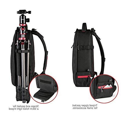 Beschoi DSLR Waterproof SLR/DSLR Camera, Lens and Accessories, Black