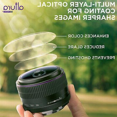 Sony E Lens 6.5mm f/2.0 Wide Circular for Sony Cameras