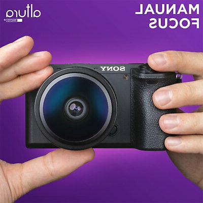 Sony Lens 6.5mm f/2.0 Circular for Cameras