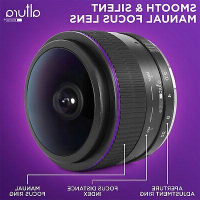 Sony E 6.5mm f/2.0 Wide Circular Fisheye for Sony