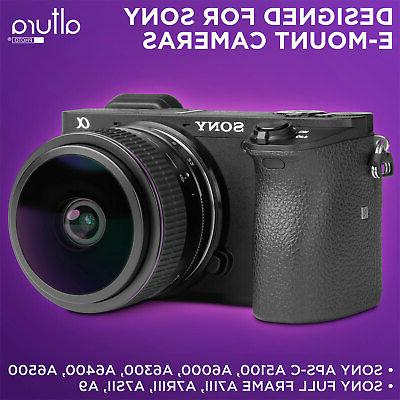Sony 6.5mm f/2.0 Angle Circular Fisheye for Sony Cameras