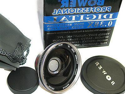 titanium fisheye fish eye lens x 38