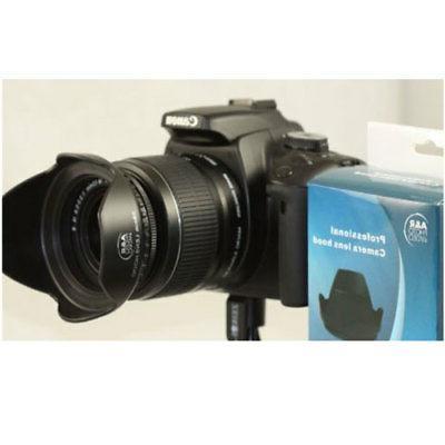 43mm Tulip Flower Lens Hood shade Photo Video screw on HG10