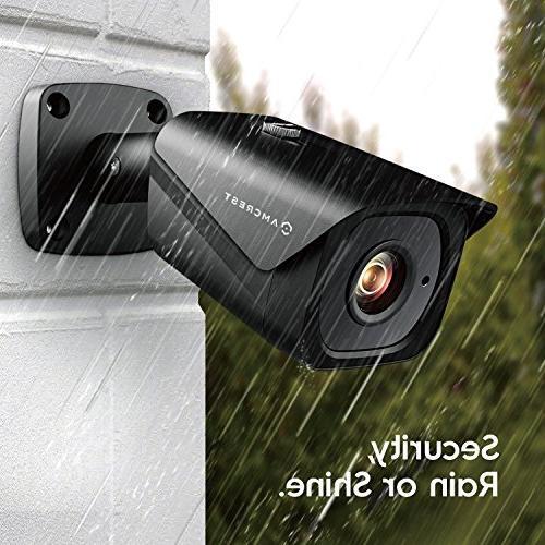 Amcrest Bullet IP 3840x2160, 131ft NightVision, Lens, Recording,