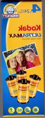 Kodak UltraMax Film 4 Rolls 24 Exposure 35mm Film ISO 400 Sp