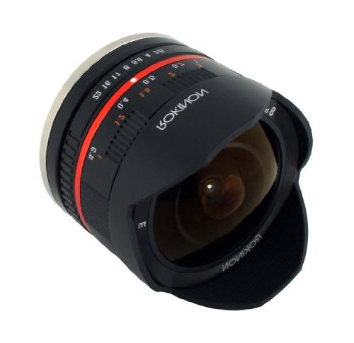 Rokinon 8mm Fisheye Lens Fuji Mount Digital Cameras