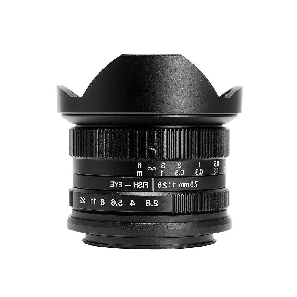 US Warehouse 7artisans F2.8 Panasonic Olympus M4/3 Camera