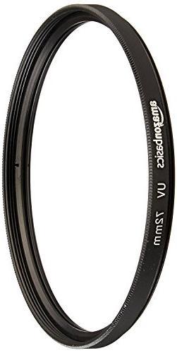 AmazonBasics UV Protection Lens Filter - 72 mm