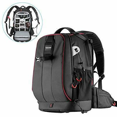 Neewer Waterproof Shockproof Padded Camera Backpack Bag for