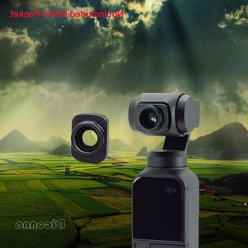 Waterproof Wide-angle Lens DJI OSMO POCKET Handheld Camera Anti-shake