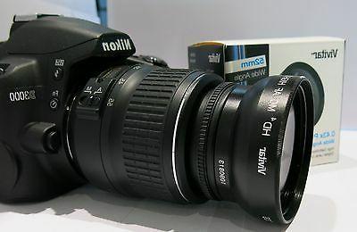 Vivitar 43X Wide Angle 52mm lens