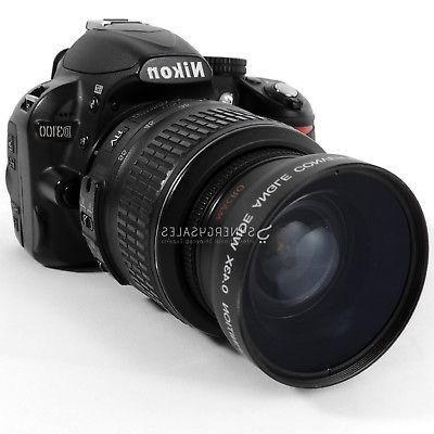 52MM Wide Lens for D5200 D3300 D3200 D3100